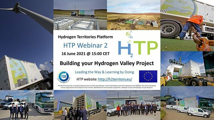 HTP Webinar 2: Building your Hydrogen Valley project ideas and consortium partners